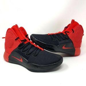 Nike Hyperdunk X 2018 University Red High Top Shoe